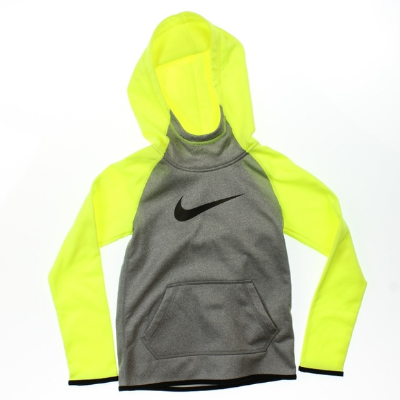 Nike Other - Nike Therma Training Full-Zip Hoodie Grey Volt NWD